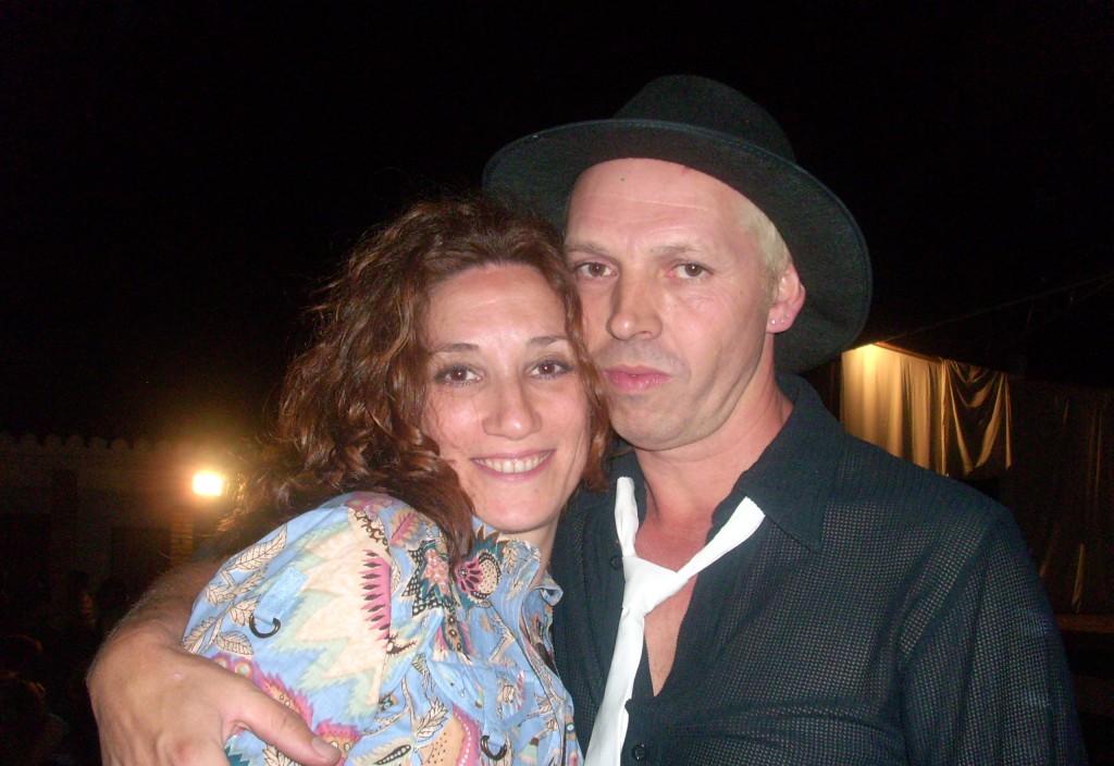 Con Victor Orive