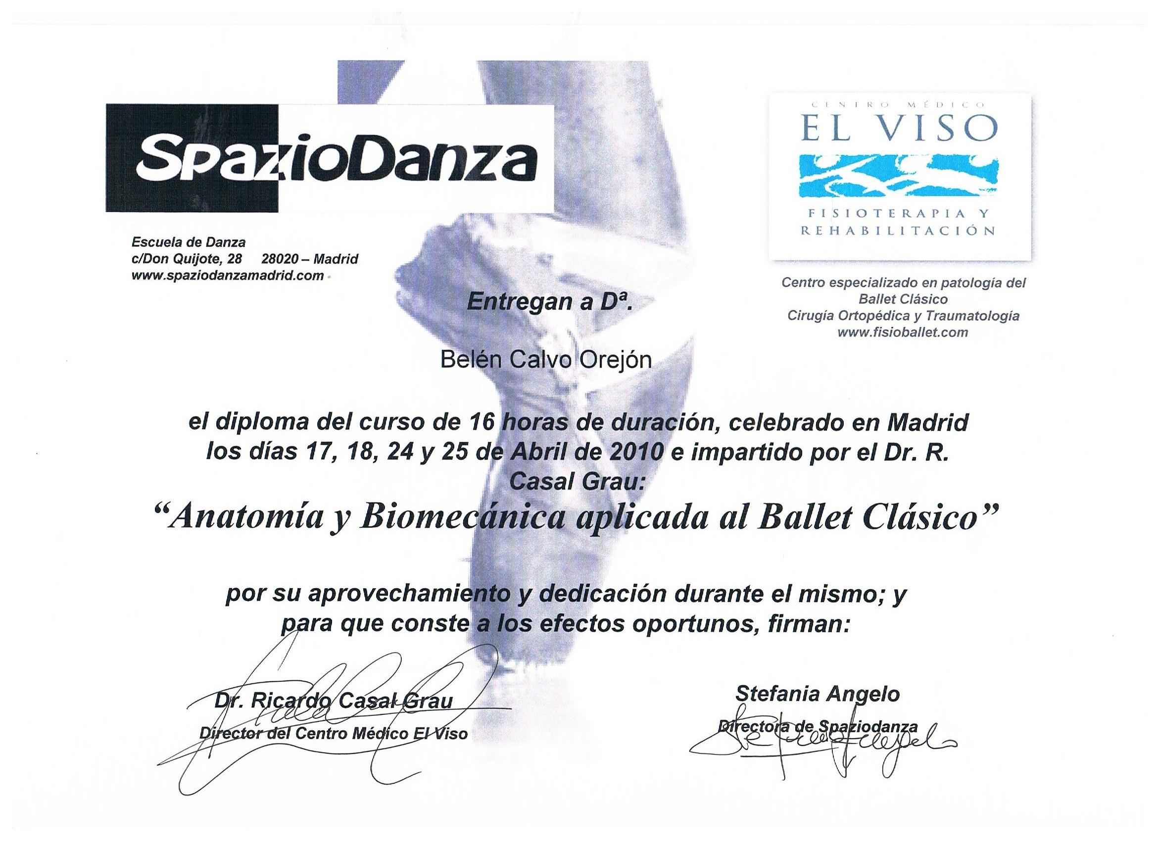Academia de ballet en latex - 1 10